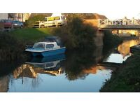18ft Birchwood River Cruiser moored on Stroud canal