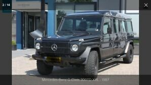 RARE FIND One of a Kind Classic Mercedes Benz G Wagon