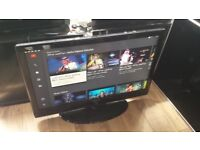 """Samsung 42"""" Smart Full HD 1080p Freeview LCD TV £140"""