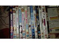 Around 64 dvds