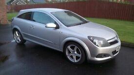 Silver 3 door Vauxhall Astra 1.6L. Half leather interior MOT until Nov 17. Lovely car