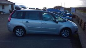 citroen c4 picasso plus vtr hdi automatic, 7 seater, 1600cc turbo diesel, 91,000 miles