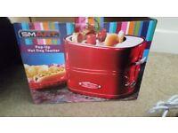 Unused hot dog toaster rrp £30