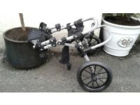 Dog wheel chair new