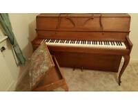Danneman Upright Piano & Stool