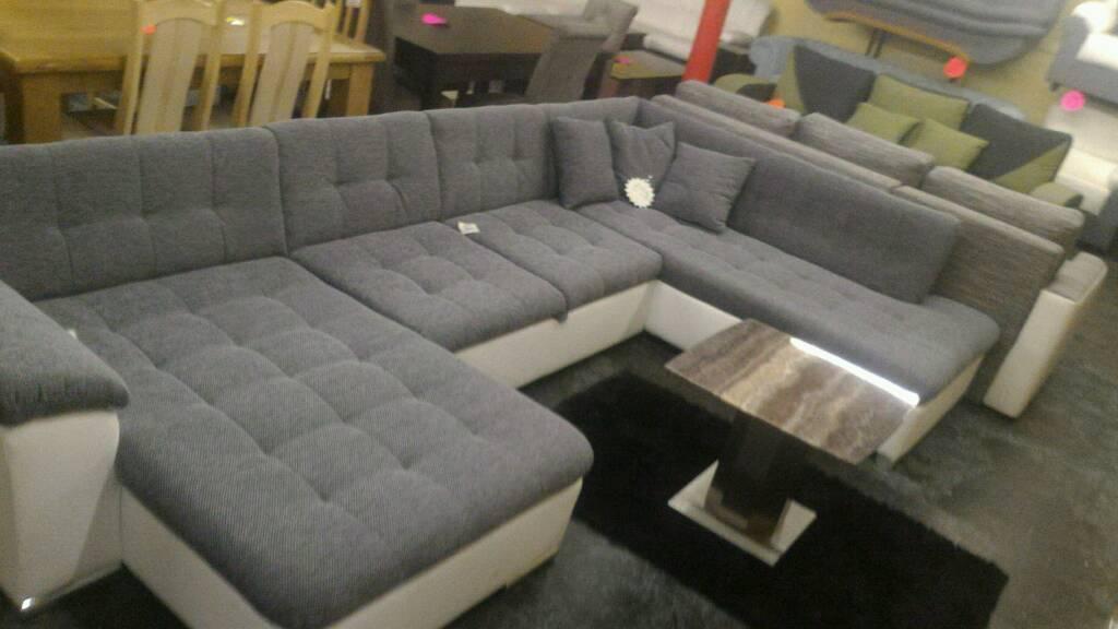Large U Shaped Corner Sofa Bed