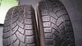 215 75 16 C 2 x tyres Vredestein Comtrac