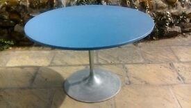 Upcycled Circular Dining Table