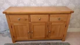Winchester Solid Oak Sideboard