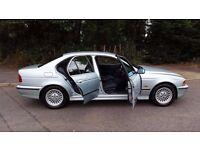 L@@K E39 BMW 520i MANUAL **FULL YEARS MOT**LOW MILES**STUNNING BODYWORK FOR YEAR**