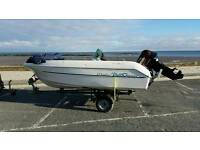 Boat Dell Quay Marlin with Mercury 40hp outboard