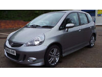 2006 55 HONDA JAZZ 1.3 SE SPORT CVT AUTO SILVER 5DR(CHEAPER PART EX WELCOME)FREE DRIVEAWAY INSURANCE