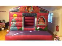 Bouncy castle popcorn & candy floss machine slush machine soft play hire in London area tf