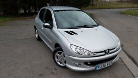 Peugeot 206 Verve 1.4 HDi 5door absolutely superb condition car and £30 tax per year