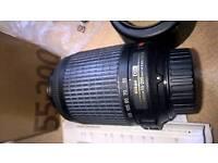 Nikon lense 55-200mm