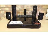 Samsung HT-J7500W 5.1 Smart 3D Blu-ray and DVD Home Theatre System - No Sub