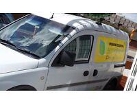 Van+carpet cleaning machine+traditional window stuff