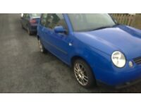 great first time car vw lupo 1.0 litre