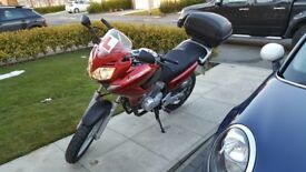 2012 Honda Varadero 125 VB 12K Learner V-B Red Motorbike Legal FSH UK