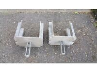 1 FORK U HEAD FORMWORK,HEAVY DUTY, for ACROW PROPS, ACRO JACK