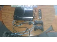 Play Station 3 with fan 2 gamepad and hdmi+8 games