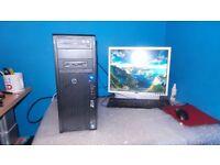 HP Z210 COMPUTER + INTEL I5 + 2TB HARD DRIVE