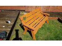 SUMMER SEAT BENCH , 3 seater
