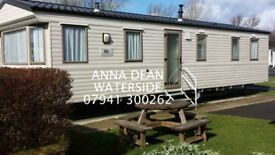 Holiday in 8 berth luxury caravans @ Waterside Holiday Park and Spa, Weymouth.