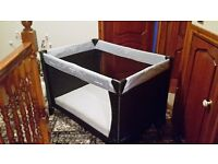 Hauck Travel cot and mattress for Sale