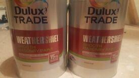 Dulux weathersheld paint for sale