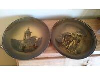 Two Ridgway Burns Plates