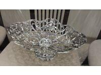 Beautiful Oval Silverware Fruit basket - BRAND NEW