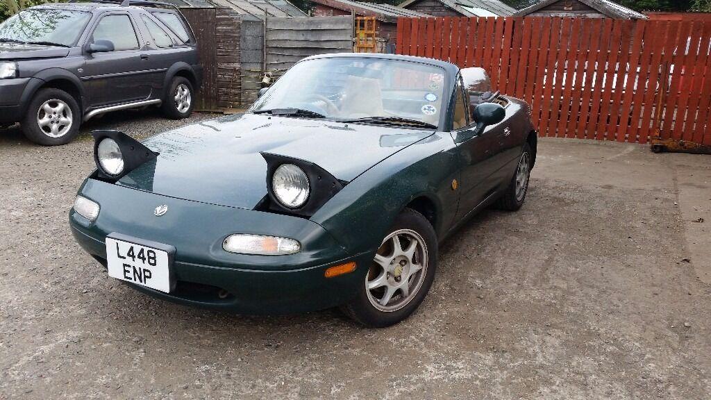 Mazda Mx5 Eunos Mk1 British Racing Green Amp Tan