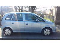Vauxhall Meriva Club 1.6 2008 (08)**Long MOT**Low Mileage**Fantastic MPV for ONLY £1895