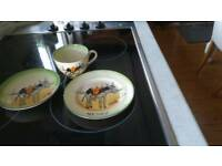 Neddy cup saucer an plate