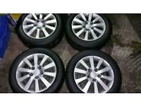 """Honda 16"""" alloy wheels"""