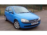 Vauxhall Corsa C 1.2 i 16v SXi 3dr Manual Petrol | Low milage - 76800 | 6 months MOT