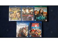 Blue-Ray 5 Movies Collection
