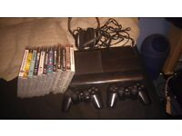 Ps3 60 GB with games and headset
