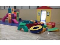 Large soft play shapes