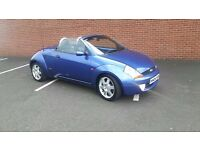 Ford street ka luxury convertible full mot 12.08.16 ( streetka with full heated leather aircon