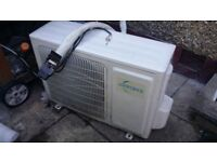 Airforce air-conditioner 9000btu wall-mount split from B&Q
