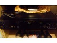 sony dvd/cd/cd video
