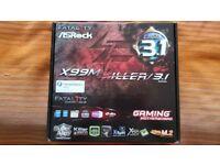 ASRock X99M Killer/3.1 Intel S2011-3 Intel Gaming Motherboard