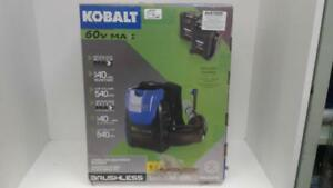KOBALT 60V Backpack Blower (1) (#52109) (OR101481) We Sell New and Used Tools!