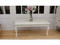 shabby chic coffee table in laura ashley pale twine