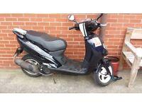 Sym euro mx 125 scooter