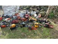 job lot of chainsaws / garden equipment spares or repair