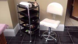 Beauty/Hair Salon Trolley on Wheels