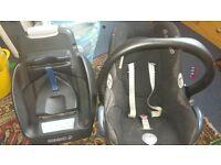 maxi-cosi car seat & isofix base